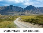 Dirt Road In The Valley Of The...