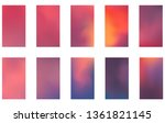 colorful backgrounds in trendy...