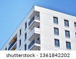 modern european residential... | Shutterstock . vector #1361842202