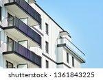 modern european residential... | Shutterstock . vector #1361843225
