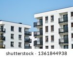 modern european residential... | Shutterstock . vector #1361844938