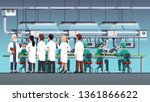 scientific engineers wearing... | Shutterstock .eps vector #1361866622