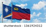 marshall islands and... | Shutterstock . vector #1361924312
