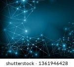technological background ... | Shutterstock . vector #1361946428