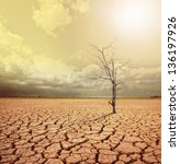 concept image of global warming. | Shutterstock . vector #136197926