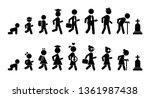 all ages men and women flat... | Shutterstock .eps vector #1361987438