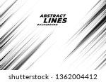 abstract diagonal sharp lines... | Shutterstock .eps vector #1362004412