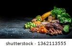 assortment of high magnesium... | Shutterstock . vector #1362113555