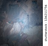 Texture blue oil with center soft light. - stock photo