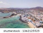 corralejo aerial cityscape ...   Shutterstock . vector #1362125525