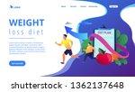 businessman running and losing... | Shutterstock .eps vector #1362137648