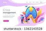 brain  lightbulb and business... | Shutterstock .eps vector #1362143528