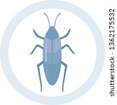 cool insect cockroach badge in... | Shutterstock .eps vector #1362175532