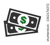 modern dollar sign vector.... | Shutterstock .eps vector #1362176372