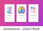 man doing human brain puzzle....   Shutterstock .eps vector #1362179618