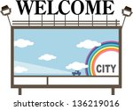 vector illustration of a... | Shutterstock .eps vector #136219016
