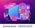 tiny peple  marketing manager... | Shutterstock .eps vector #1362212225