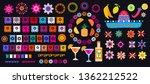 cinco de mayo mexican  big  set ... | Shutterstock .eps vector #1362212522