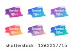 special offer color promo... | Shutterstock .eps vector #1362217715