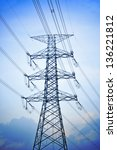 High Voltage Electric Tower....
