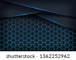 abstract 3d background with a... | Shutterstock .eps vector #1362252962