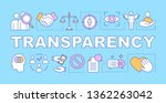 transparency word concepts... | Shutterstock .eps vector #1362263042