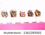 bubble waffle ice cream | Shutterstock . vector #1362285002
