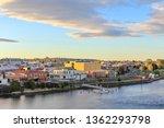 sunset in tasmanian town... | Shutterstock . vector #1362293798