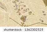 design art vintage map city... | Shutterstock .eps vector #1362302525