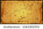 design art vintage map city... | Shutterstock .eps vector #1362302552