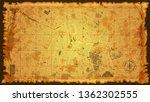 design art vintage map city... | Shutterstock .eps vector #1362302555