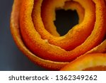 macro citrus fruit peel.... | Shutterstock . vector #1362349262
