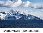 snow peaks  glaciers and rocks... | Shutterstock . vector #1362360008