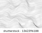 wave lines pattern abstract...   Shutterstock .eps vector #1362396188