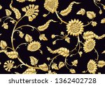 indian ethnic pattern with... | Shutterstock .eps vector #1362402728