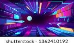 night metropolis neon colors... | Shutterstock .eps vector #1362410192