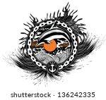 dolphin | Shutterstock .eps vector #136242335