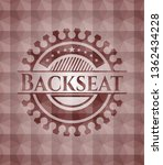 backseat red seamless emblem... | Shutterstock .eps vector #1362434228