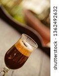 macchiato coffee served in a... | Shutterstock . vector #1362492632