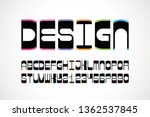 vector of stylized abstract... | Shutterstock .eps vector #1362537845