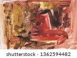 beige brown ocher paint in... | Shutterstock . vector #1362594482