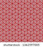 vector illustration of seamless ... | Shutterstock .eps vector #1362597005