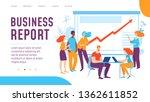 vector business report concept... | Shutterstock .eps vector #1362611852