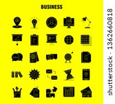 business solid glyph icon for...