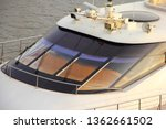 windscreen of a motor yacht...   Shutterstock . vector #1362661502