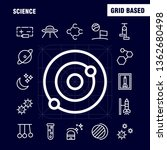 science line icon pack for...