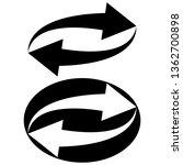 sign symbol update reload ...   Shutterstock .eps vector #1362700898