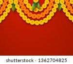 indian holiday background.... | Shutterstock .eps vector #1362704825