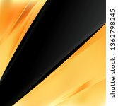 abstract orange and black... | Shutterstock . vector #1362798245