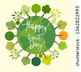 earth day. eco friendly concept | Shutterstock .eps vector #1362822995